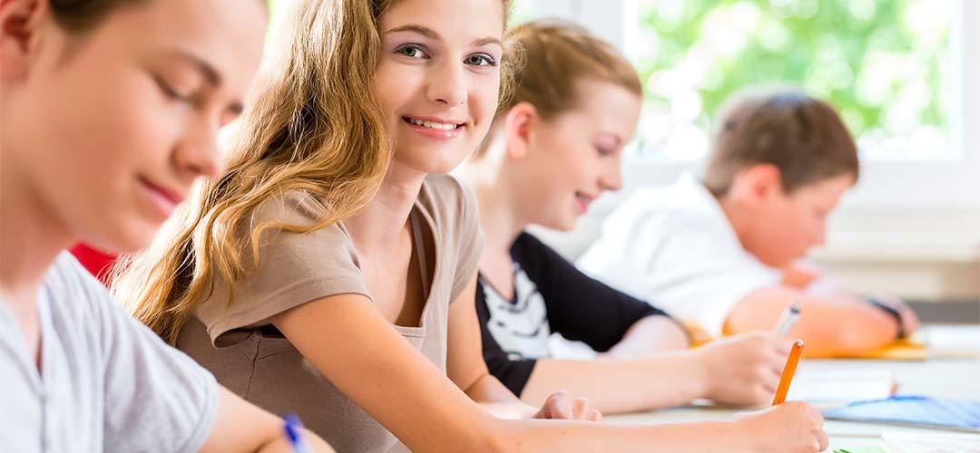 Bild von Schülern im Unterricht