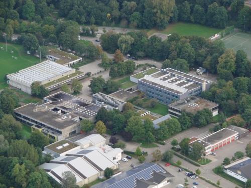 Luftaufnahme Maximilian Lutz Realschule