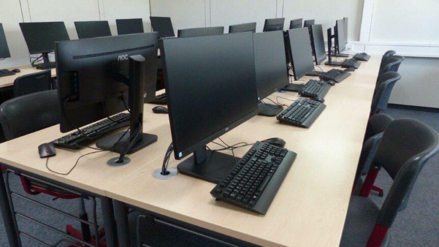 Bild Computerraum der MLRS