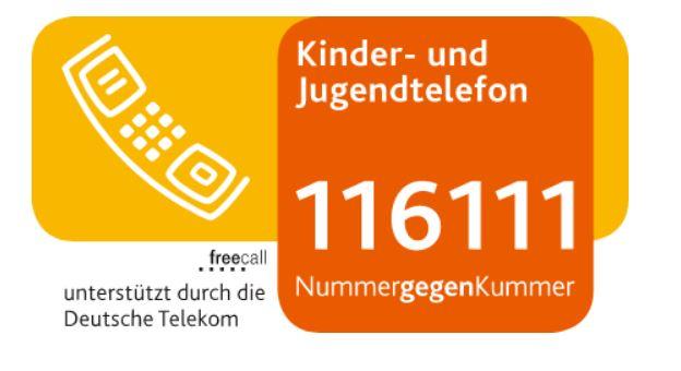 Grafik mit der Tel. Nummer 116111